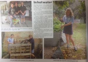 Hot water setup Yea Chronicle 2015